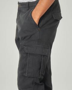 Pantalone tasconato color antracite