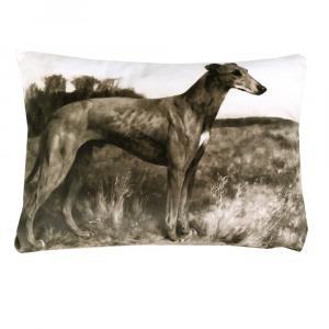 Cuscino decorativo Trussardi con imbottitura PAINTINGS grigio seppia