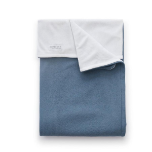 Copertina per culla La Ninna Mini Happy Blue Cobalto 100x75 cm