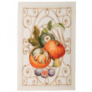 Strofinaccio da cucina Tessitura Toscana in puro lino Cenerentola - Zucche