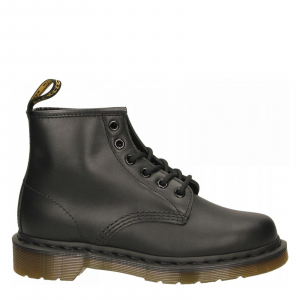 101 NAPPA BLACK - 6 EYE BOOT