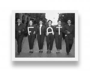 Operaie Fiat in corteo, 1952