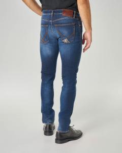 Jeans 529 Mich lavaggio stone wash