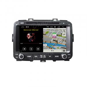 ANDROID 9.0 GPS DVD USB SD WI-FI Bluetooth Mirrorlink autoradio 2 DIN navigatore per Kia Carens 2013-2018
