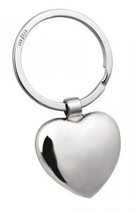 Portachiavi cuore rosso cm.6,5x3,5x1h