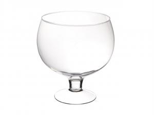 Coppa in vetro per confettata caramellata cm.28h diam.26,5