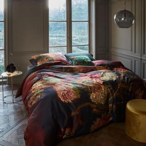 Copripiumino matrimoniale e federe BEDDING HOUSE Van Gogh Gladioli raso