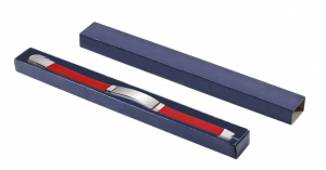 Scatola in cartoncino blu per braccialetti