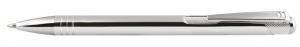 Penna in allumicio cromata cm.14x1x1h
