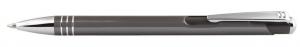 Penna in alluminio color grigio cm.14x1x1h
