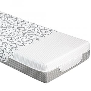 Materasso Singolo 80x190 Alto 20 cm Memory Foam Ortopedico Massaggiante con Cuscino Letto Gratis, Rivestimento Sfoderabile Lavabile Tessuto Antiacaro Anallergico Modello Millenium