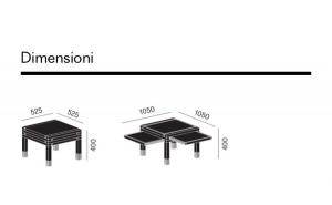 Tavolino Par 3