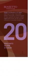 Tavoletta 20: Pralinato di fave di cacao