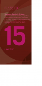 Tavoletta 15: Lampone