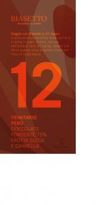 Tavoletta 12: Trinitario Perù con frutta secca e cannella