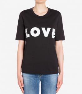 T-shirt Love Moschino Nera