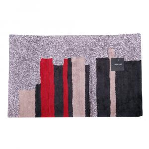 Tappeto da bagno in spugna Carrara ORSAY righe rosse - 2 misure