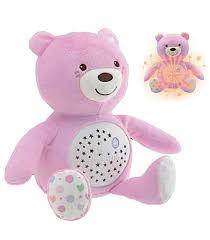 Orso Baby Bear First Dream rosa  con proiettore Chicco