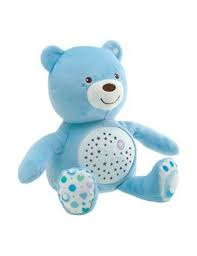 Orso Baby Bear First Dream azzurro con proiettore Chicco