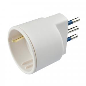 Poly Pool PP0433 Tipo L (IT) Tipo L (IT) Bianco adattatore per presa di corrente
