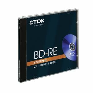 TDK BD-RE 25GB 1 pezzo(i)