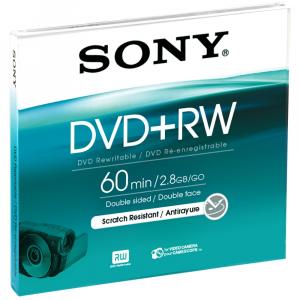 Sony 8cm ReWritable 1000x DVD+RW 2.8GB 1pezzo(i)