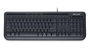 Microsoft Wired Keyboard 600 USB Alfanumerico Inglese Nero tastiera