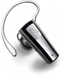 Cellularline Micro Headset - Universale Auricolare Bluetooth mono leggero e dal design minimal Nero