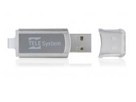 TELE System Pendrive USB 16GB unità flash USB 2.0 Connettore USB di tipo A Grigio