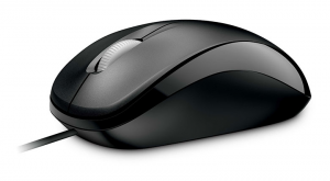 Microsoft Compact Optical Mouse 500 USB Ottico 800DPI Ambidestro Nero mouse