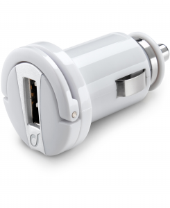 Cellularline USB Car Charger Ultra - Fast Charge Universale Micro caricabatterie da auto USB Bianco
