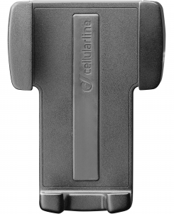 Cellularline Handy Wing - Universale Supporto auto per smartphone semplice ed essenziale Nero