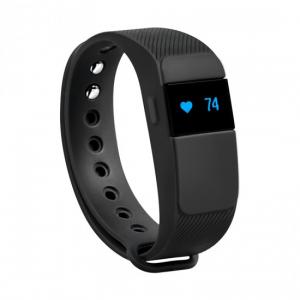 SBS Beat Heart Wristband activity tracker Con cavo e senza cavo Nero