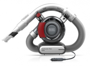 Black & Decker PD1200AV Senza sacchetto Grigio, Rosso aspiratore portatile