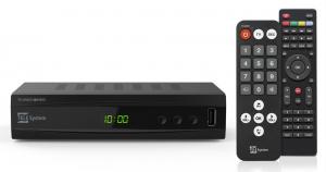 TELE System TS UNICO T2 HEVC Nero set-top box TV