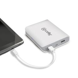 Celly Li-Ion 8000mAh Ioni di Litio 8000mAh Bianco batteria portatile
