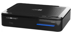 ADB i-CAN 4900T+ Terrestre Nero set-top box TV