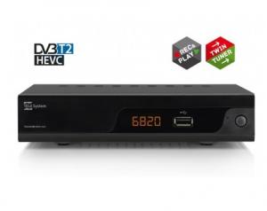 Telesystem TS6820 Terrestre Full HD Nero set-top box TV