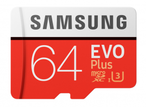 Samsung EVO Plus MB-MC64G 64GB MicroSDXC UHS-I Classe 10 memoria flash