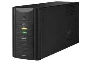 Trust Oxxtron 800VA 2AC outlet(s) Compatta Nero gruppo di continuità (UPS)