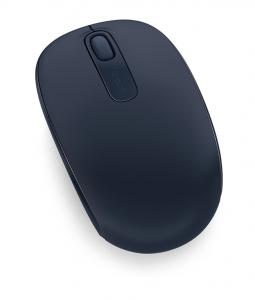 Microsoft Wireless Mobile Mouse 1850 Wireless  + USB Ambidestro Blu marino mouse