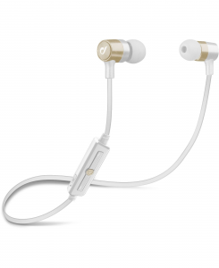 Cellularline Earphones In-Ear - iPhone and iPad Auricolare Stereo Bluetooth In-Ear per iPhone Oro