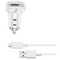 Cellularline 39233 Caricabatterie per dispositivi mobili Auto Bianco