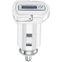 Cellularline 39235 Caricabatterie per dispositivi mobili Auto Bianco
