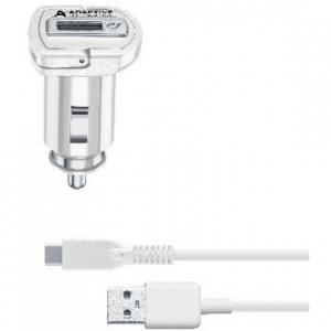 Cellularline CBRSMKIT15WTYCW Caricabatterie per dispositivi mobili Auto Bianco