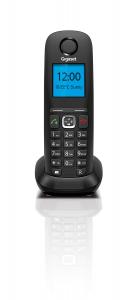Gigaset A540 IP Analogico/DECT Identificatore di chiamata Nero