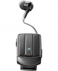 Cellularline ROLLER CLIP HEADSET IN-EAR Auricolare in-ear con cavo riavvolgibile e clip BluetoothВ senza fili