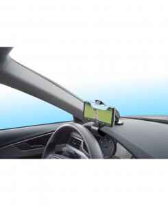 Cellularline Pilot View - Universale Supporto auto per smartphone da quadro strumenti