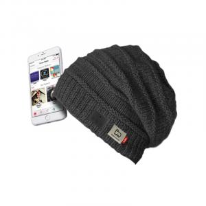 SBS TEWOOLCAPBTK berretto con cuffie integrate Senza fili Nero