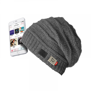 SBS TEWOOLCAPBTG berretto con cuffie integrate Senza fili Grigio